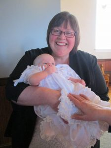 baptism photo julie and charlotte