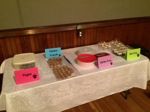 safe space - the special cupcakes display