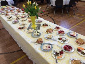 ucw - dessert table