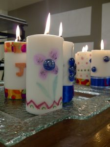confirmation-candles-close-up
