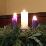 Fully Lit Advent Wreath