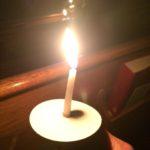 Christmas Eve Candle