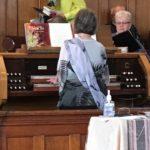 Carol at organ