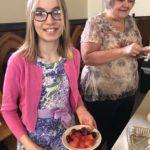 Sharing Easter breakfast