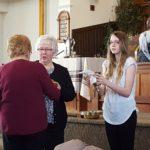 Sharing communion
