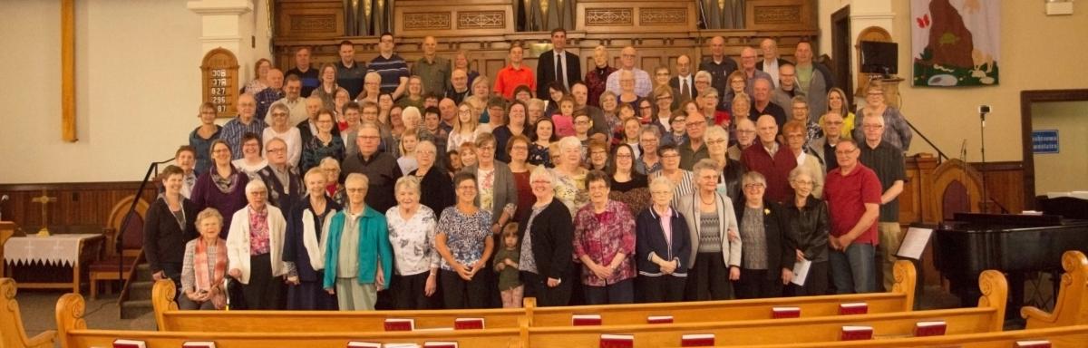 Congregational shot April 22 2018 long